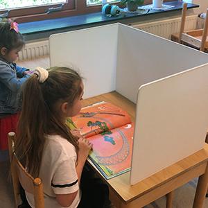 Concentratiescherm voor kinderen