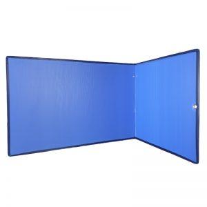 Concentratiescherm FocusBoard L-vorm Luchtblauw
