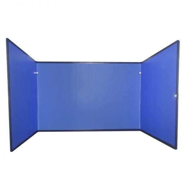 Concentratiescherm FocusBoard U-vorm Luchtblauw